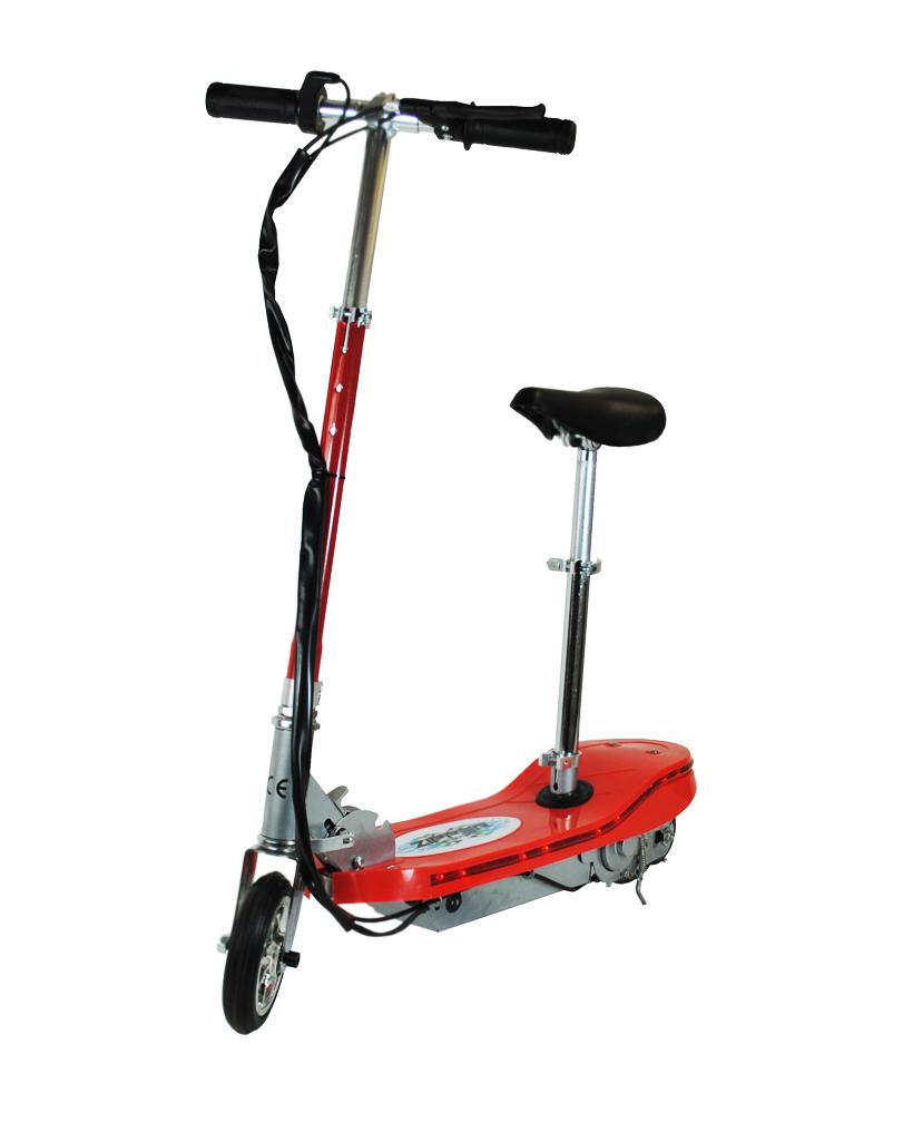 120w zipper elektro scooter mit led lichter rot. Black Bedroom Furniture Sets. Home Design Ideas
