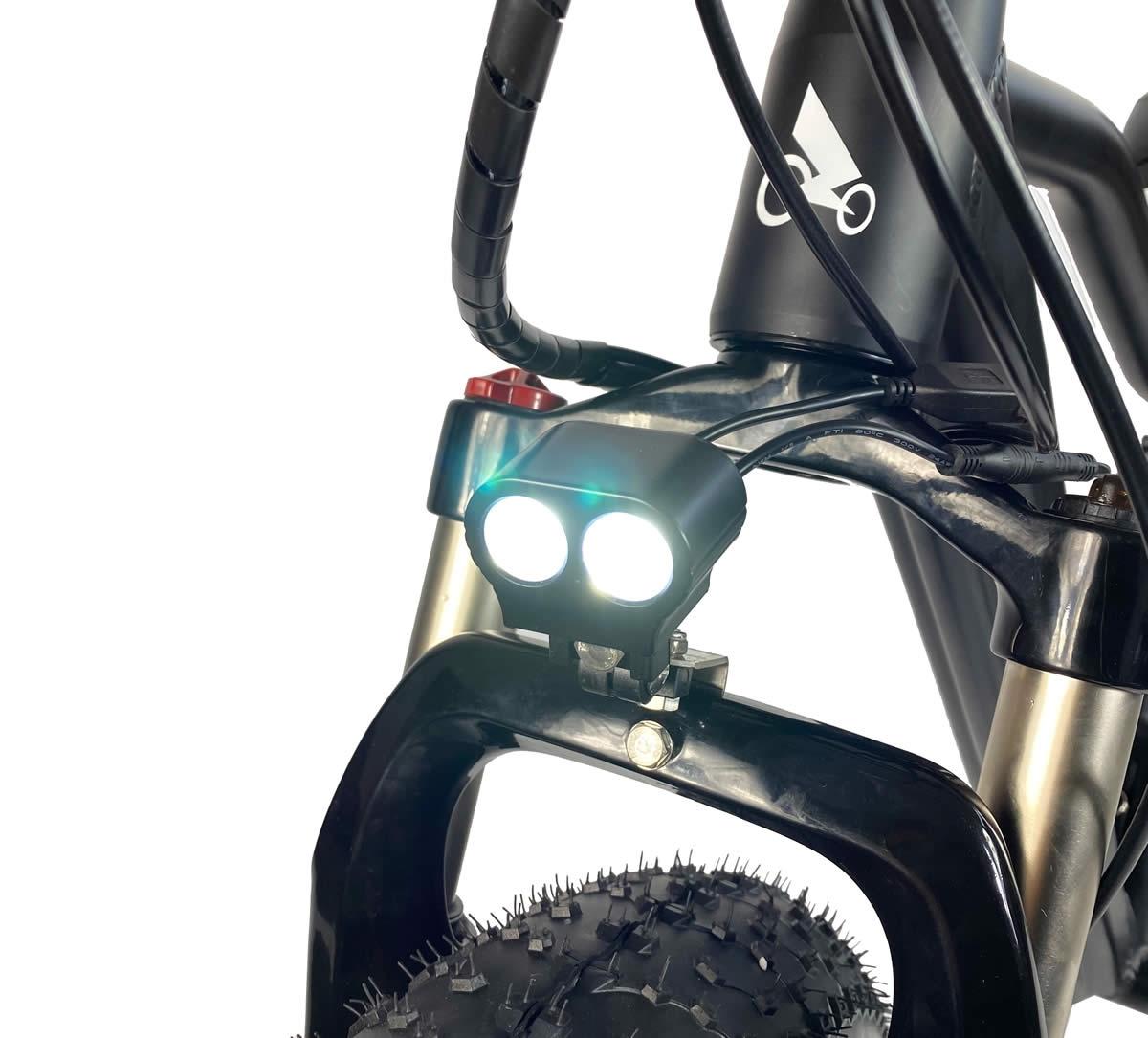 LED-Licht, wasserdichte Verkabelung und Aussperrung