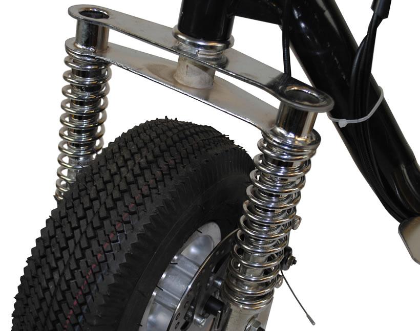 Dual shock suspension